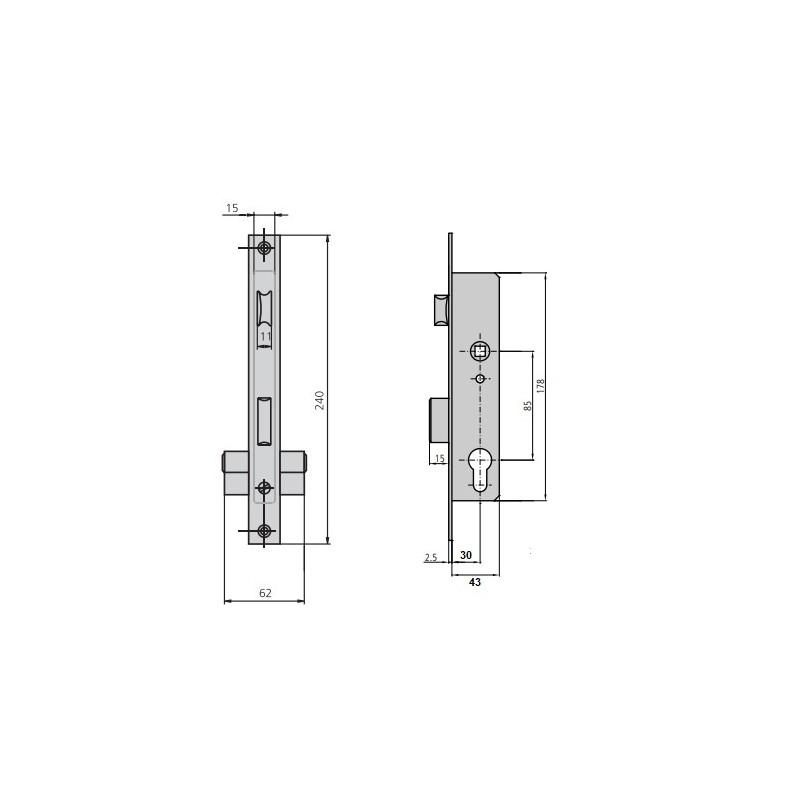 Tornillo DIN 7504-N 5,5x22