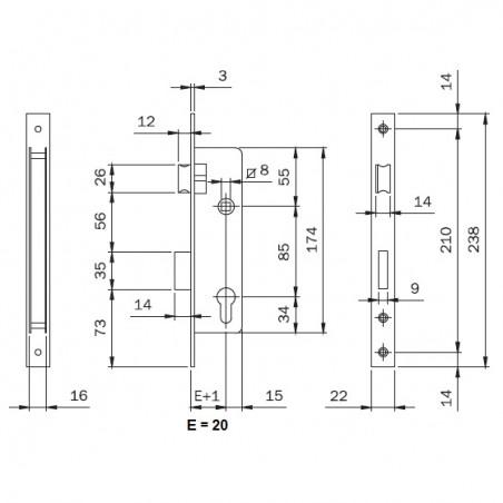 Tornillo DIN 7504-N 5,5x32 (€ por 500)