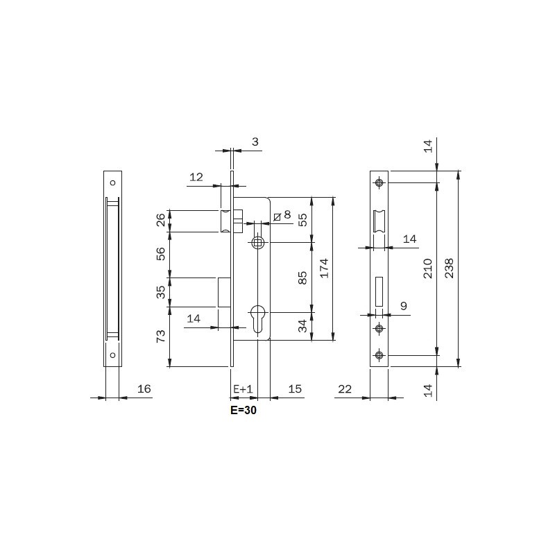 Tornillo DIN 7504-N 5,5x38