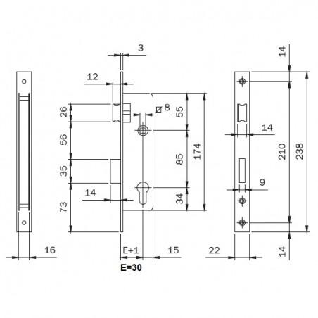 Tornillo DIN 7504-N 5,5x38 (€ por 500)