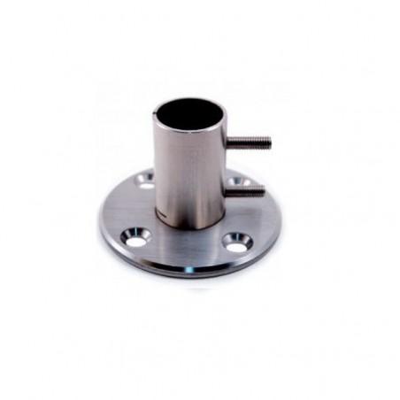 Tirador Aluminio Acero Inox 30x20, de 400 mm.