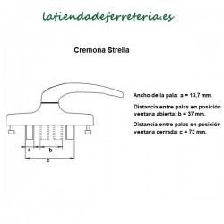 Cremona Manilla Strella rf. 2000 Teyco recorrido