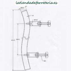 Tirador-Acero-Inox-475-mm-Curvo-medidas