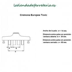 Cremona-Tovic-Europea-Mango-Extraible-recorrido