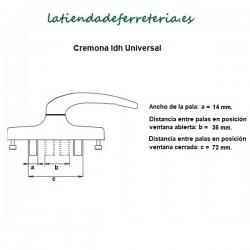 Cremona-Manilla-IDh-Universal-Blanca-o-Negra-recorrido