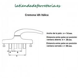 Cremona-Manilla-IDh-Italica-Blanca-o-Negra-recorrido