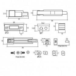Disco de Desbaste Acero 115x6,5x22