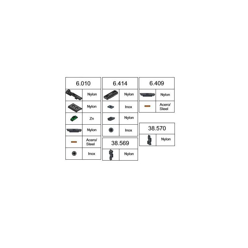 Disco de Láminas 115x22