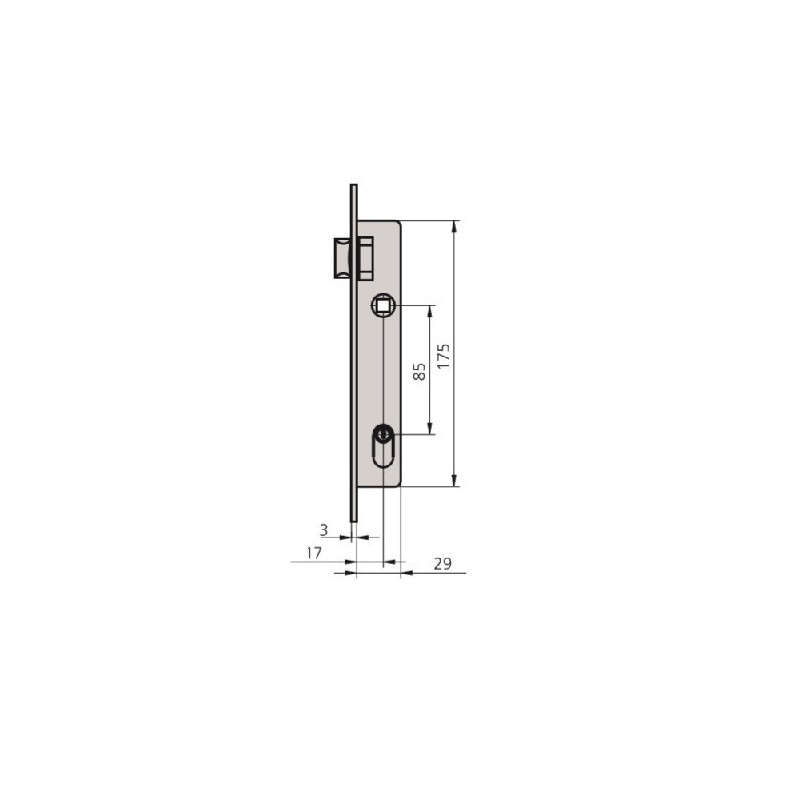 Muletilla Modelo 2 Acero Inox.