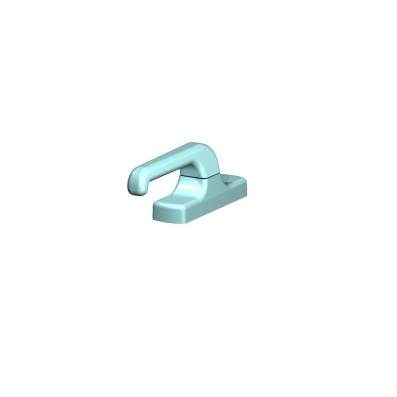 Contera de pl stico rectangular para interior - Conteras de plastico ...