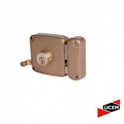 Cerradura Ucem 4125 HB012 Picaporte Pestillo