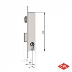 Cerradura CVL 1984V20/6...