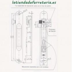 Cerradura CVL 1964A/5 Palanca
