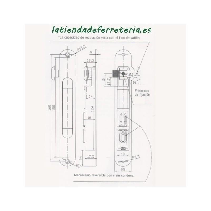 Cerradura CVL 1964A/5